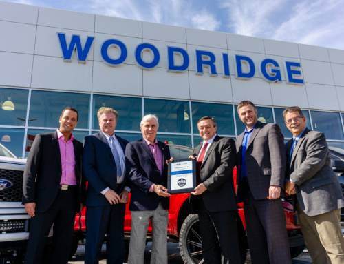 Woodridge Ford Lincoln wins a top Ford award too!