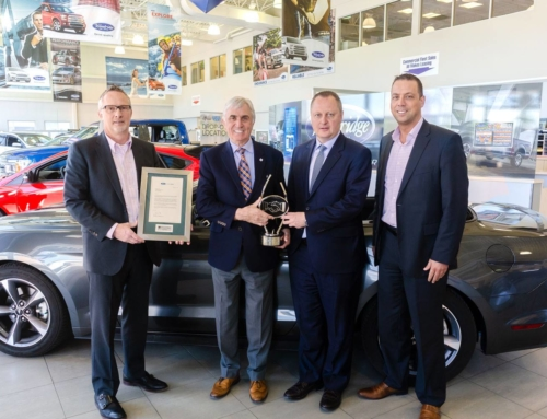 Woodridge Ford Lincoln wins Ford Credit Partners in Quality Award